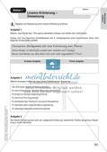 Stationenarbeit Aufsätze: Lineare Erörterung Preview 4