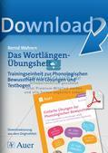 Training der Phonologischen Bewusstheit: Wortlängen Preview 1