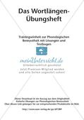 Training der Phonologischen Bewusstheit: Wortlängen Preview 2
