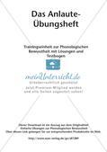 Training der Phonologischen Bewusstheit: Anlaute Preview 2
