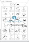 Training der Phonologischen Bewusstheit: An-, In- und Auslaute Preview 5