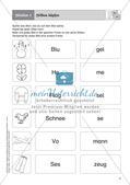 Rechtschreibung im Anfangsunterricht: Silbentrennung Preview 4