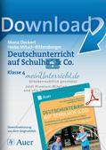 Deutschunterricht auf dem Schulhof Preview 1