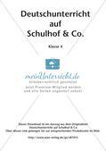 Deutschunterricht auf dem Schulhof Preview 2