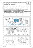 Lernwerkstatt Zoo: Wörter und Texte Preview 12