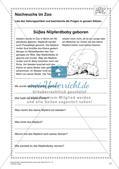 Lernwerkstatt Zoo: Wörter und Texte Preview 13
