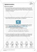 Textaufgaben, Geometrie und Statistik zum Thema Fußball Preview 10