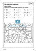Textaufgaben, Geometrie und Statistik zum Thema Fußball Preview 12