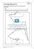 Textaufgaben, Geometrie und Statistik zum Thema Fußball Preview 13