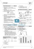 Textaufgaben, Geometrie und Statistik zum Thema Fußball Preview 18