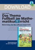 Textaufgaben, Geometrie und Statistik zum Thema Fußball Preview 1