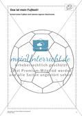 Thema Fußball: Gestalten und Collagieren Preview 3
