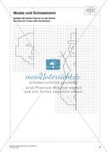 Sachaufgaben, Achsenspiegelung und Statistik zum Thema Winter Preview 10