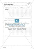 Sachaufgaben, Achsenspiegelung und Statistik zum Thema Winter Preview 9