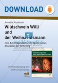 Adventsgeschichte: Wildschwein Willi und der Weihnachtsmann Preview 1