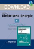 Grundwissen Energie: Elektrische Energie Preview 1