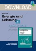 Grundwissen Energie: Energie und Leistung Preview 1