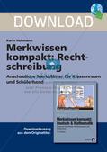 Merkwissen kompakt: Rechtschreibung Preview 1