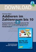 Addition im Zahlenraum bis 10 Preview 1