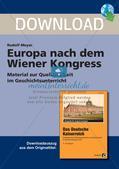Europa nach dem Wiener Kongress Preview 1