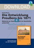 Die Entwicklung Preußens bis 1871 Preview 1