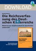 Die Reichsverfassung des Deutschen Kaiserreichs Preview 1