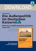 Die Außenpolitik im Deutschen Kaiserreich Preview 1