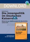 Die Innenpolitik im Deutschen Kaiserreich Preview 1