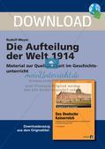 Die Aufteilung der Welt 1914 Preview 1
