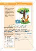 Untersuchen und Gestalten von Texten: Allgemeines über Fabeln Preview 1