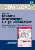 Mozarts Instrumente: Geige und Klavier Preview 1