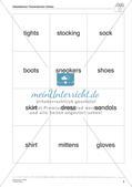 Wortschatzarbeit: Clothes Preview 6