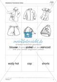 Wortschatzarbeit: Clothes Preview 9