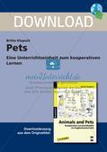 Wortschatzarbeit: Pets Preview 1