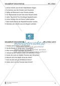 Übungen zur Satzstellung Preview 15