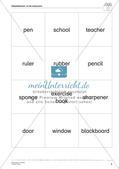 Wortschatzarbeit: At School Preview 7