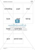 Wortschatzarbeit: At School Preview 9