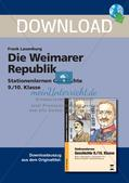 Die Weimarer Republik Preview 1