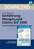 Einführung: Mengen und Zahlen bis 1000 Preview 1