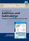 Addition und Subtraktion Preview 1