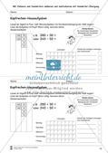 Hausaufgaben zum Kopfrechnen Preview 14