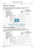 Hausaufgaben zum Kopfrechnen Preview 5
