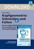 Kopfgeometrie: Schneiden und Falten Preview 1