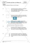 Kopfgeometrie: Schneiden und Falten Preview 4