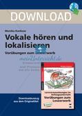 Leseerwerb: Hören und Lokalisieren von Vokalen Preview 1