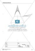 Übungen zum Technischen Zeichnen: Zirkelkonstruktionen Preview 15