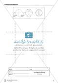 Übungen zum Technischen Zeichnen: Zirkelkonstruktionen Preview 7