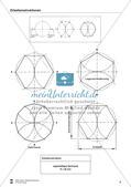 Übungen zum Technischen Zeichnen: Zirkelkonstruktionen Preview 8