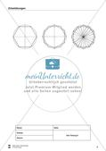 Übungen zum Technischen Zeichnen: Zirkelübungen Preview 11