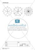 Übungen zum Technischen Zeichnen: Zirkelübungen Preview 9